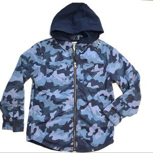Brothers by Justice boys large 12 Camo Jacket New